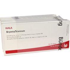 BRYONIA STANNUM Ampullen:   Packungsinhalt: 50X1 ml Ampullen PZN: 02085207 Hersteller: WALA Heilmittel GmbH Preis: 41,24 EUR inkl. 19 %…