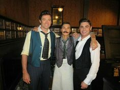 Hugh Jackman, Daniel 'Cloud' Campos, and Zac Efron in The Greatest Showman The Greatest Showman, Movie Photo, Movie Tv, Happy Birthday Big Brother, Showman Movie, Pt Barnum, A Whole New World, Zac Efron, Hugh Jackman