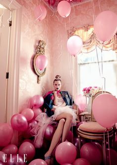 Liisa Winkler in Eccentric Style by Owen Bruce for Elle Canada September 2015