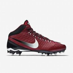 New Nike CJ3 Pro TD Men's Football Cleats Sz 8 University Red 723976 610 | eBay
