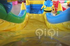 https://flic.kr/p/uT8ML4 l | Get ready for our Great design minion water slide with pool! Yes, for sure, it is new design with splash pool in the front.Minion Despicable Me themed inflatables is always popular and is great for all ages. Features safety netting over climbing area and at the top.Our inflatable minion Despicable Me series slide looks like the real thing and its a ton of fun!  More Info:http://www.qiqi-toys.com/Slide/Minion-Inflatable-Slide-With-Pool-1223.html