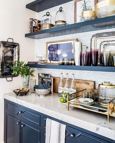 Home Tour: Kitchen Reveal Emily Jackson From The Ivory Lane. Love This  Butleru2026 Part 71