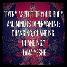 buddhism #impermanence #insight #wisdom #quote #quoteoftheday