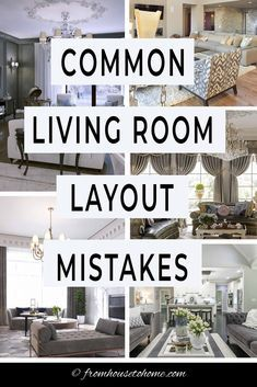 Learn how to fix these common living room layout mistakes with easy-to-implement furniture arrangement solutions that will help your home decor and interior design look its best fromhousetohome livingroom decoratingtips Diy Home Decor Living Room, Living Room Furniture Arrangement, Living Room Furniture Layout, Interior Design Living Room, Home And Living, Living Room Designs, Barbie Furniture, Furniture Legs, Garden Furniture
