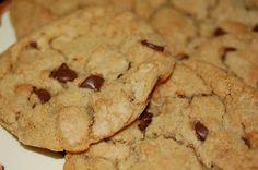 Home made chocolate chip cookies.. nom nom!!
