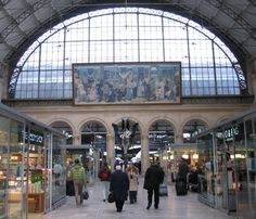 gare du nord tgv paris rer metro train station see tgv. Black Bedroom Furniture Sets. Home Design Ideas