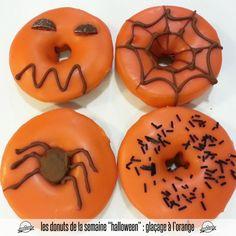 Les donuts de la semaine, édition Halloween glaçage à l'orange