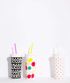 Ban.do Sip Sip Tumbler with Straw