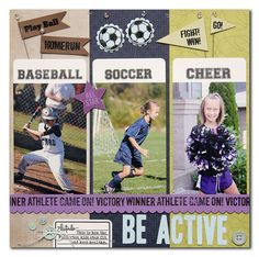 Love this sports page from the Technique Tuesday blog, gonna try to scraplift it at the crop next weekend:)