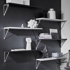 Shelving Systems with Individual Flair by Maze Interior designed in Sweden #MONOQI