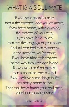 Soulmate Quotes : QUOTATION – Image : Quotes Of the day – Description what is a soul mate love quotes quotes quote relationship quotes girl quotes quotes and sayings image quotes picture quotes Sharing is Power – Don't forget to share this quote ! Daughter Love Quotes, Soulmate Love Quotes, Love Quotes For Him, Me Quotes, Qoutes, Soulmates Quotes, Status Quotes, Crush Quotes, Famous Quotes