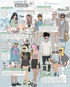 cosas de modernos, moderna de pueblo :)