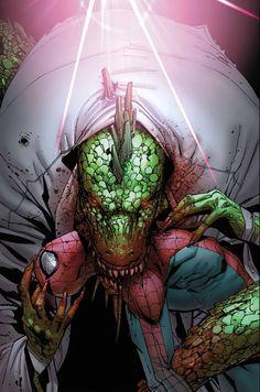 Artwork for cover of Amazing Spiderman #688. June, 2012. Art by Giuseppe Camuncoli.