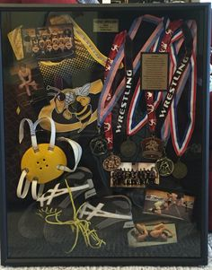 Wrestling shadow box