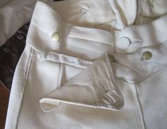 Two Nerdy History Girls: A Perfect Pair of Gentleman's Buckskin Breeches. General explanation of buckslin breeches, including some detailed pictures.