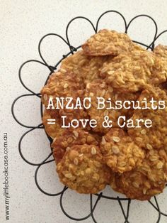 anzac biscuits_love and care_My Little Bookcase