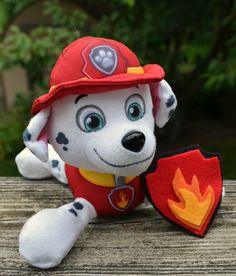 This Paw Patrol Marshall Costume cost me less than $5 to make!
