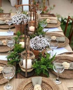 Tischdeko Running Dinner Tischdeko Running Dinner The post Tischdeko Running Dinner appeared first on Rustikal ideen. Winter Table Centerpieces, Decoration Table, Dinner Table Decorations, Thanksgiving Centerpieces, Wedding Centerpieces, Wedding Table, Wedding Decor, Wedding Ideas, Rustic Wedding