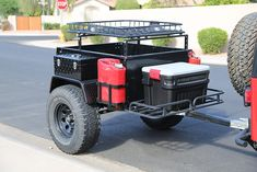 Trailer for jeep