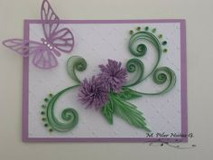 Crea Quilling : Another card