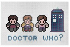 Doctor Who Cross Stitch Pattern PDF INSTANT by XStitchMyHeart