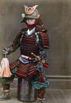 Samurai - Japan, Edo period (1864 - 1884) by Felice Beato