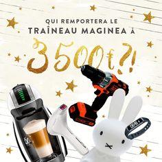 Tentez de remporter l'intégralité du Traineau Maginéa ! Comment ? En vous rendant ici : https://twitter.com/maginea/status/671283053910695936   ou bien là : https://www.facebook.com/events/495459360635919/