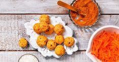 Gulrotkakeboller - Life Hummus, Carrots, Cheese, Ceramics, Cookies, Vegetables, Ethnic Recipes, Desserts, Inspiration