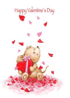 Valentine's Day, Cute Mouse Sitting in Hearts Falling card #Ad , #sponsored, #Day, #Cute, #Valentine, #rsquo Valentines Day Greetings, Happy Valentines Day, Love Heart Illustration, Cute Love Cartoons, Cute Mouse, Valentine's Day Quotes, Vintage Greeting Cards, Happy Anniversary, Teddy Bears