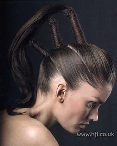 2007 elaborate ponytails hairstyle | Hairstyle GalleryHairstyle Gallery