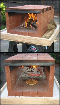 Build a dry stack wood-fired pizza oven comfortably in one day You've seen them on TV and at your local hardware store! The promise of wood-fire pizza, breads, vegetable … Wood Fired Oven, Wood Fired Pizza, Pizza Oven Outdoor, Outdoor Cooking, Brick Oven Outdoor, Build A Pizza Oven, Wood Oven Pizza, Outdoor Kitchens, Barbecue Four A Pizza