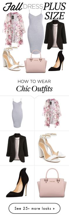 """""""Untitled #115"""" by gdb20 on Polyvore featuring Boohoo, Michael Kors and Schutz"""