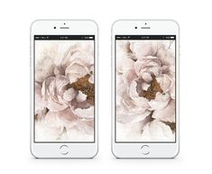 Dress Your Tech: Rosy Peonies Dress Your Tech, Long Winter, Free Prints, Wallpaper Backgrounds, Peonies, Free Printable, Backdrops, Fine Art, Artwork