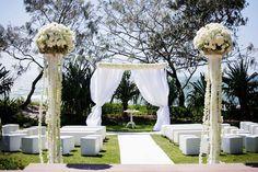 Wedding Ceremony Flowers :: Wedding Flowers Maleny, Noosa & Sunshine Coast :: Mondo Floral Designs :: Wedding and Event Florist ::