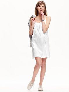 Women's Gauze Shift Dress