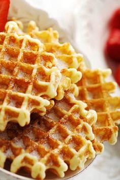 Belgian Waffles / Recette gaufre liègeoise