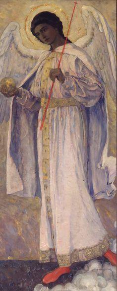 Нестеров М.. Архангел Гавриил. 1909