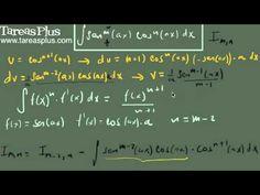 Integral del producto de seno a la m y coseno a la n (fórmula 1)