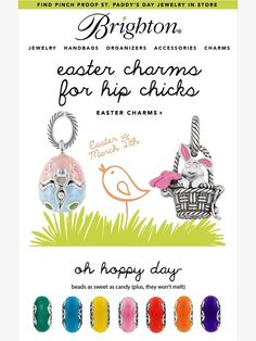 Easter Charms | Oh Hoppy Day! - Brighton