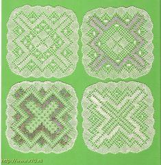 Patroon van de maand 2011 · juli - Kant met naald (en) de klos! Bobbin Lace, Pot Holders, Blanket, Crochet, Santa, Bobbin Lacemaking, Doilies, Craft Work, Hot Pads