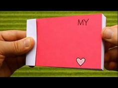 Valentine's Day Flip Book (My Heart Beats Only For You) - YouTube