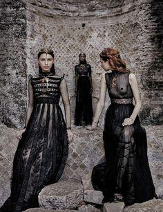 'Valentino' by Fabrizio Ferri for Vogue September Italia - Page 2   The Fashionography