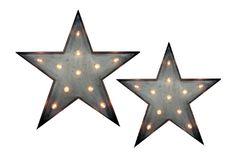 Decora tu hogar con este set de estrellas luminosas, pequeños detalles que le darán un toque único .