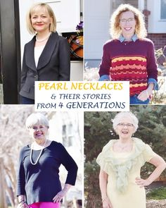 Pearl Necklaces for 4 generations