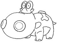 Hippopotas Pokemon Coloring Pages