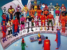the original Legion of Super-Heroes