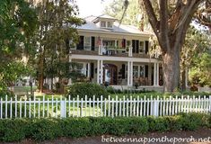 Two Story Porches: Build a Porch Way Up High | http://betweennapsontheporch.net/porch-design-ideas-build-a-porch-way-up-high/