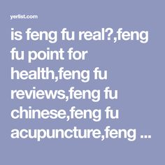 is feng fu real?,feng fu point for health,feng fu reviews,feng fu chinese,feng fu acupuncture,feng fu headband,feng fu point massage,feng fu for live longer live young,Feng Fu Point - A Surprising Trick to Feel Good ,Feng Fu Point - The Ultimate Ice Therapy