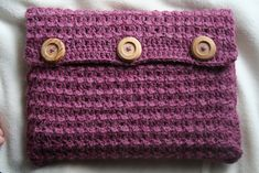 Ravelry: Laptop Cardigan Sleeve pattern by Yasmin Gamal