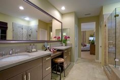 The master bath in Residence Three of the Artisan Collection. — at Campanilla by Taylor Morrison.